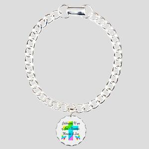 90 YR OLD BLESSING Charm Bracelet, One Charm