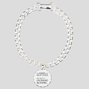 INSPIRE Charm Bracelet, One Charm