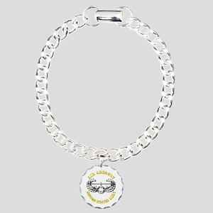 Emblem - Air Assault Charm Bracelet, One Charm