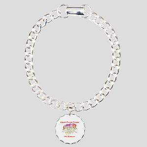 Ancient Psychic Tandem W Charm Bracelet, One Charm