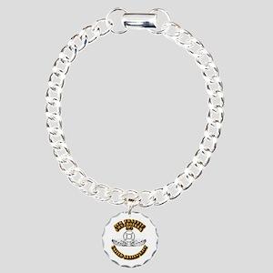 Navy - Rate - AC Charm Bracelet, One Charm