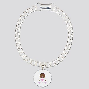 BABY GIRL WITH PACIFIER Bracelet
