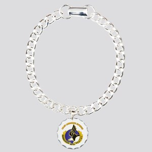 DUI - 101st Airborne Division with Text Charm Brac