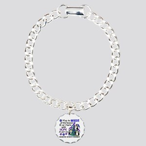RA Christmas Penguins Charm Bracelet, One Charm