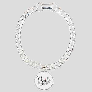 Elegant Bride Charm Bracelet, One Charm