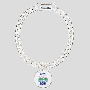 911 Dispatch Bracelet Charm Bracelet, One Charm