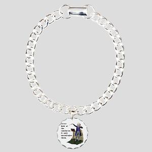 Conductor Charm Bracelet, One Charm