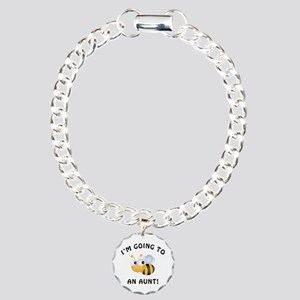 Going To Bee An Aunt Charm Bracelet, One Charm