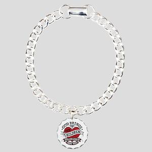 Adoption Tattoo Charm Bracelet, One Charm