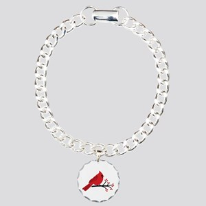Christmas Cardinals Bracelet