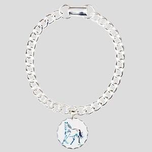 Horse of Many Colors Charm Bracelet, One Charm