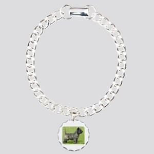 Cairn Terrier 9Y004D-024 Charm Bracelet, One Charm