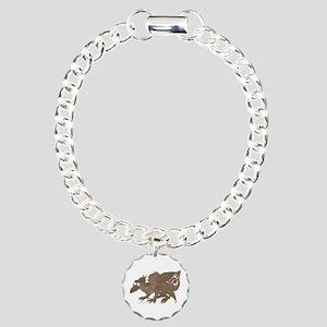 Breng the 3 Headed Dragon Charm Bracelet, One Char