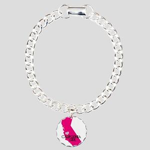 CALIFORNIA GIRL w HEART [4] Bracelet