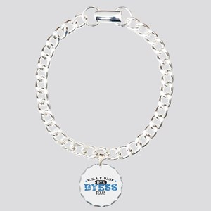 Dyess Air Force Base Charm Bracelet, One Charm