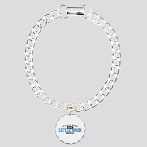 Little Rock Air Force Base Charm Bracelet, One Cha