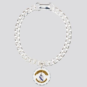 COA - 8th Infantry Regim Charm Bracelet, One Charm