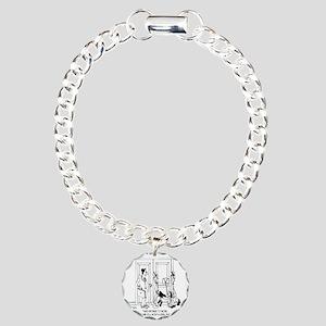 7344_law_cartoon Charm Bracelet, One Charm