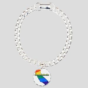 Carpinteria Charm Bracelet, One Charm