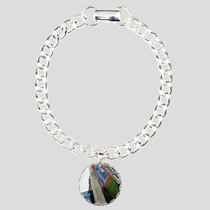 The Bat Charm Bracelet, One Charm