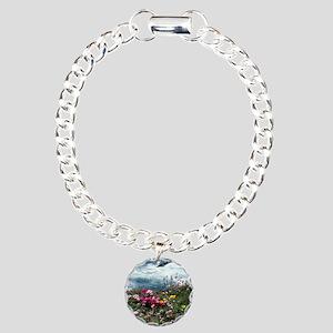 33108 Mendocino Botanica Charm Bracelet, One Charm