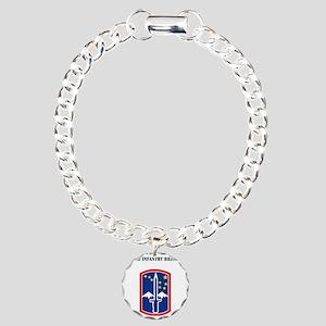 SSI - 172nd Infantry Bri Charm Bracelet, One Charm
