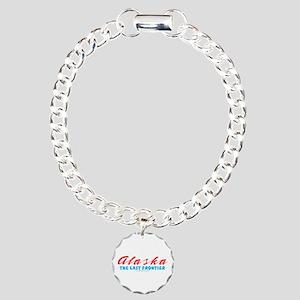 Alaska - Last frontier Charm Bracelet, One Charm