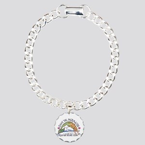 Save the Mermaids Charm Bracelet, One Charm