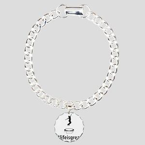 Trampoline-06-A Charm Bracelet, One Charm