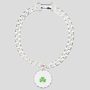 Drunky -blk Charm Bracelet, One Charm
