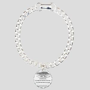 new-get-your-kicks Charm Bracelet, One Charm