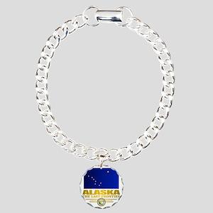 Alaska Pride Charm Bracelet, One Charm