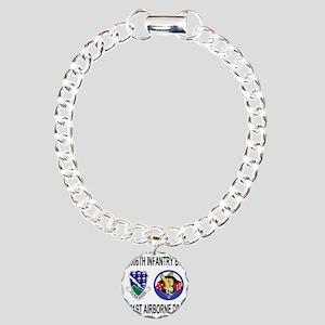 2-Army-506th-Infantry-2- Charm Bracelet, One Charm