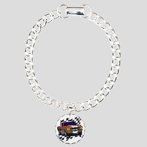66bronze Charm Bracelet, One Charm