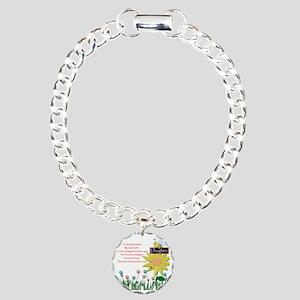 You Are My Sunshine Daug Charm Bracelet, One Charm