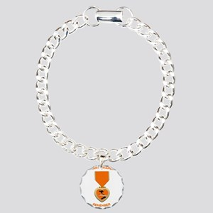 Agent Orange Charm Bracelet, One Charm