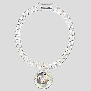 Harbor Seal Charm Bracelet, One Charm