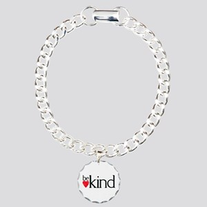 Be Kind Mantra Charm Bracelet, One Charm