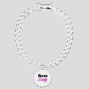 Boss Lady Charm Bracelet, One Charm