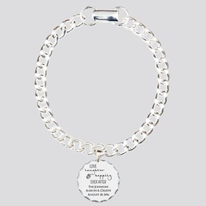 Love Laughter and Happily Ever After Bracelet