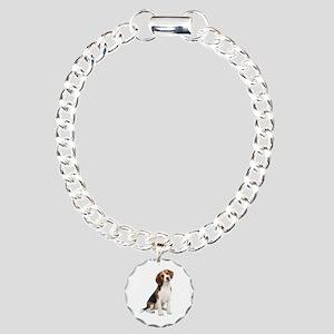 Beagle #1 Charm Bracelet, One Charm