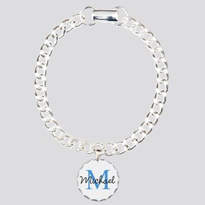 Personalize Iniital, And Charm Bracelet, One Charm