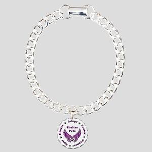 Shelter Pets Bracelet Charm Bracelet, One Charm