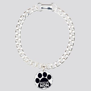 Rescue Mom Charm Bracelet, One Charm