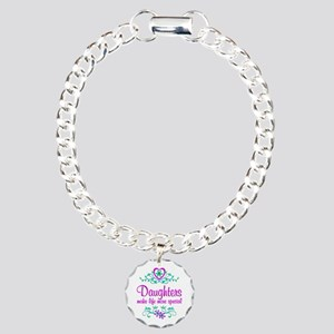 Special Daughter Charm Bracelet, One Charm