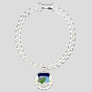 102nd FW Charm Bracelet, One Charm