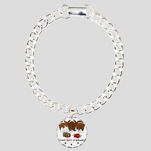 StBernardButtsNew Charm Bracelet, One Charm