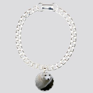 Artic Fox Charm Bracelet, One Charm