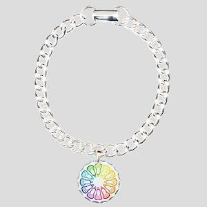 Lacrosse Spectrum Charm Bracelet, One Charm