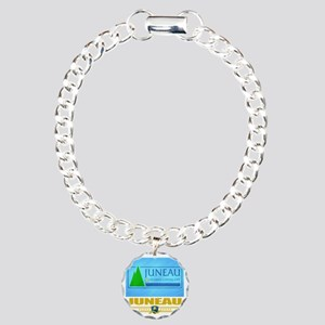 Juneau (Flag 10) Charm Bracelet, One Charm